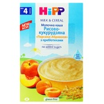 Hipp With Peach And Apricot with For 4+ Months Babies Milk Rice-Corn Porridge 250g