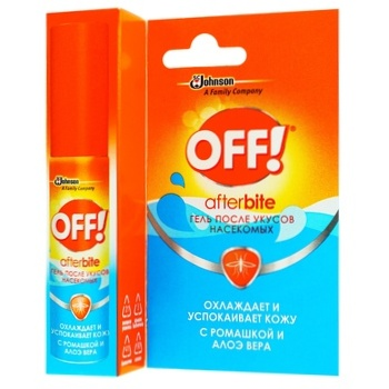 OFF! Against Mosquitos After-Bite Gel 8ml - buy, prices for Tavria V - image 1