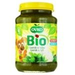 Ovko for children from 4 months rice-spinach puree 190g