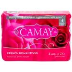 Мыло туалетное Camay Роминтик 4шт*75г