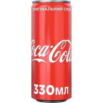 Напиток газированный Coca-Cola ж/б 4х0,33л - купить, цены на Метро - фото 2