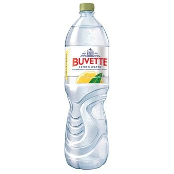 Вода минеральная Buvette слабогазированная со вкусом лимона 1,5л