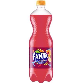 Напиток Fanta What the Fanta безалкогольный сильногазированный сокосодержащий 1л