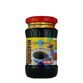Напій Цікоринка Цикорій натуральний розчинний 200г - купити, ціни на Ашан - фото 1