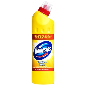 Domestos Disinfectant Lemon Freshness 500ml - buy, prices for CityMarket - photo 1