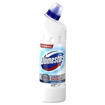Средство дезинфицирующее Domestos ультра белый 1л - купить, цены на Метро - фото 1