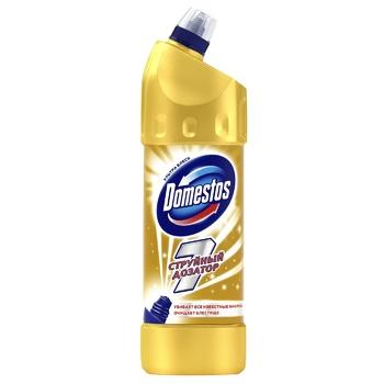 Чистящее средство для унитаза Domestos   Ультра блеск 1л - купить, цены на Восторг - фото 1