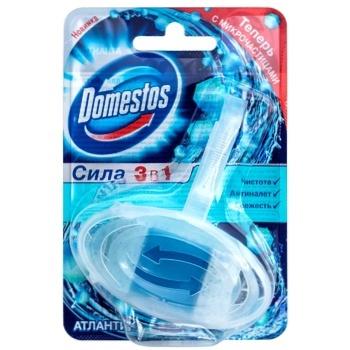 Блок для унітазу Domestos Атлантік гігіенічний 40г - купити, ціни на ЕКО Маркет - фото 1