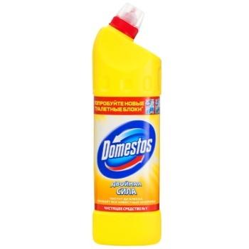 Засіб для чищення Domestos Лимонна свіжість універсальний 1л - купити, ціни на ЕКО Маркет - фото 1