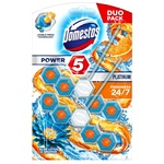 Domestos Power 5 Lotus and Orange Toilet Block 2х55g