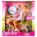 Лялька Defa Lucy на велосипеді