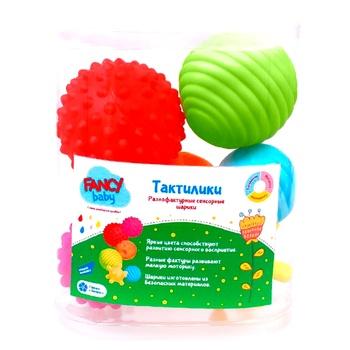 Развивающая игрушка Fancy Baby Тактилики - купить, цены на Novus - фото 1