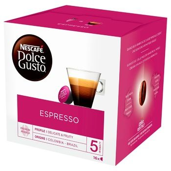 NESCAFÉ® DOLCE GUSTO® Espresso coffee in capsules 16 pcs 88 g - buy, prices for MegaMarket - image 1