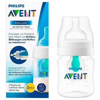 Бутылочка для кормления Philips Avent Anti-colic с клапаном AirFree 125мл
