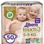 Libero Touch diapers for children 4-8kg 50 pieces