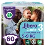 Libero Comfort 3 Diapers 5-9kg 60pcs