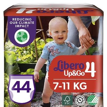 Подгузники-трусики Libero Up&Go 4 7-11кг 44шт - купить, цены на УльтраМаркет - фото 1