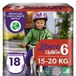 Подгузники-трусики Libero Up&Go 6 для детей 13-20кг 18шт