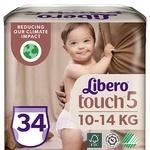 Подгузники-трусики Libero Touch 5 10-14кг 36шт - купить, цены на Восторг - фото 1