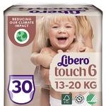 Подгузники-трусики Libero Touch 6 для детей 13-20кг 30шт