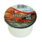 Крем-сир ЛВК -Мілк Для суші 65% 200г