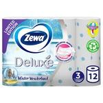 Туалетная бумага Zewa трехслойная 12шт