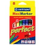 Фломастеры Centropen Perfect Maxi цветные 8шт