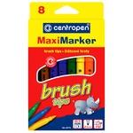Centropen Brush Maxi Colored Felt-Tip Pens 8pc