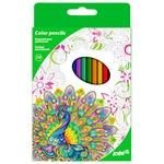 Олівці кольорові Kite Антистрес 18шт