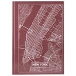 Блокнот Axent A4 Нью-Йорк твердая обложка 96 листов