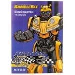 Картон білий Kite Transformers A4 10арк