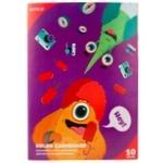Картон кольоровий Kite Jolliers А4 10арк