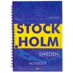 Axent A5 Stockholm Notebook hard cover A5 96 sheets