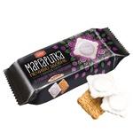 Печенье Делиция Маргаритка сдобное в молочной глазури со вкусом черной смородины 150г