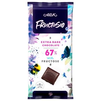 Шоколад ABK экстрачерный без сахара 67% 90г