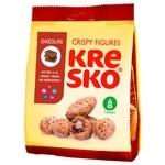 Печенье хрустящие фигурки Kresko шоколадный вкус 170г