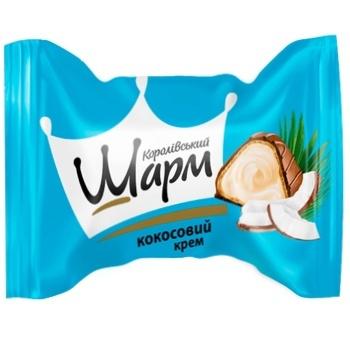 Конфеты АВК Королевский Шарм кокосовая начинка
