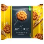 Печенье Biscotti Cookies Time с овсяными хлопьями 170г