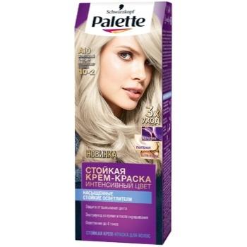 Крем-краска для волос Palette Интенсивный цвет 10-2 (A10) Жемчужный блондин 110мл