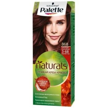 Крем-краска для волос Palette Naturals 3-68 (868) Шоколадно-каштановый 110мл