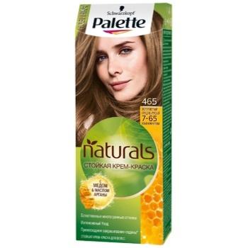 Крем-краска для волос Palette Naturals 7-65 (465) Золотистый средне-русый 110мл - купить, цены на СитиМаркет - фото 1
