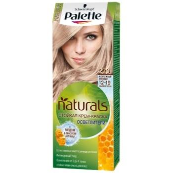 Крем-краска для волос Palette Naturals 12-19 (220) Жемчужный блондин 110мл