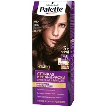 Крем-краска для волос Palette Интенсивный цвет 3-65 (W2) Темный шоколад 110мл