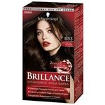 Brillance Hair Color Cream 883 Elegant Dark Brown 160ml