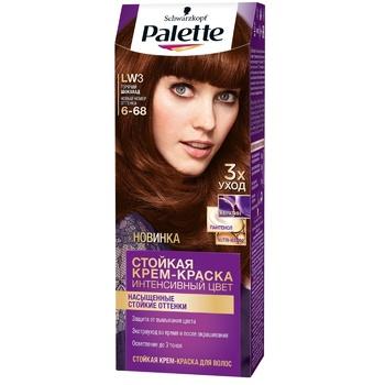 Краска для волос Palette интенсивный цвет ICC 6-68 (LW3) горячий шоколад 110мл