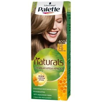 Крем-краска для волос Palette Naturals 7-0 (400) Средне-русый 110мл