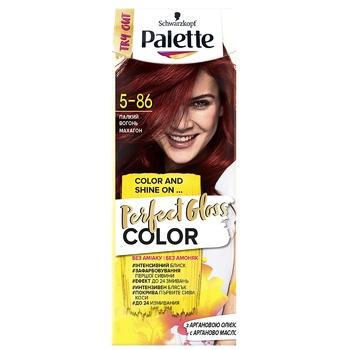 Крем-фарба для волосся Palette Perfect Gloss 5-86 Палкий вогонь - купити, ціни на Ашан - фото 1