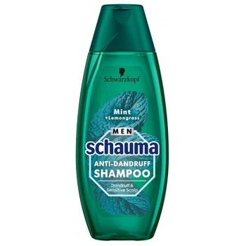Шампунь для волос Schauma Men Мята и лемонграсс против перхоти 400мл