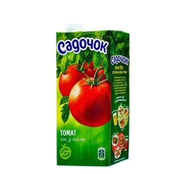 Sadochok tomato juice with salt 0,95l - buy, prices for Furshet - image 2