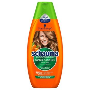 Schwarzkopf Schauma Shampoo Sea Buckthorn 400ml - buy, prices for CityMarket - photo 1